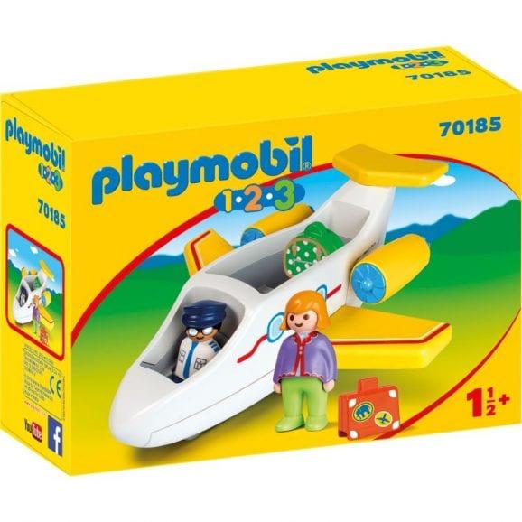 פליימוביל  1,2,3 מטוס נוסעים לגיל הרך 70185