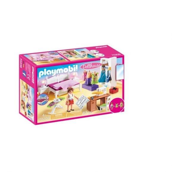 פליימוביל בית בובות: חדר שינה הורים ופינת תפירה P70208