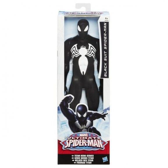 ספיידרמן מרוול - דמות ספיידרן האולטימטיבי בחליפה שחורה