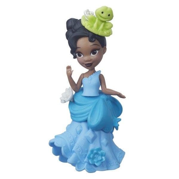 דיסני נסיכות - בובת  טיאנה קטנה ואופנתית