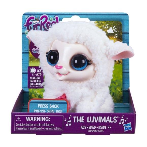 בובת כבשה מנגנת