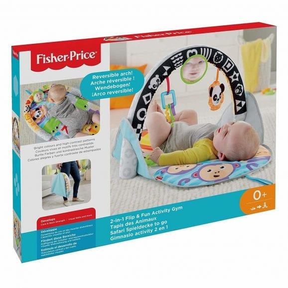 פישר פרייס אוניברסיטה מתקפלת לתינוק 2 ב 1 - FXC14