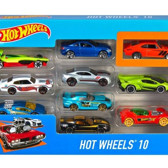 הוט ווילס 10 מכוניות באריזה - 54886