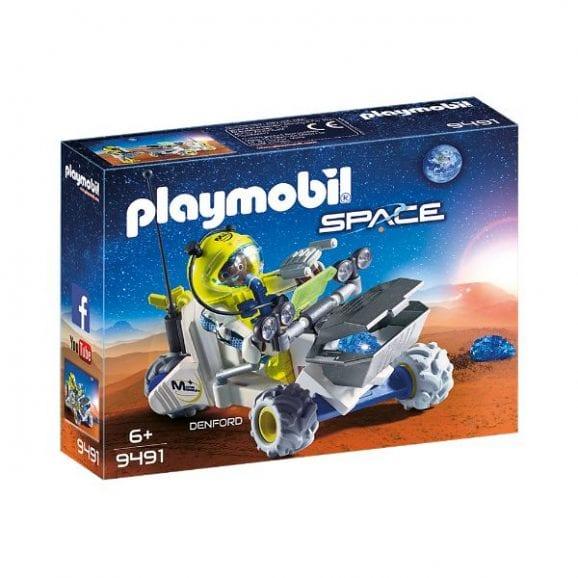 פליימוביל אסטרונאוט וטרקטורון במאדים - 9491