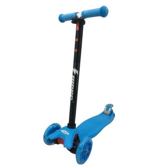 סקוטר 3 גלגלים וייפר לגילאי 6 ומעלה - כחול