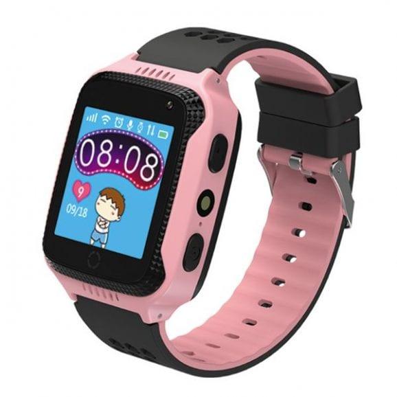 שעון חכם לילד לייט-  ורוד- מסך מגע צבעוני +מצלמה