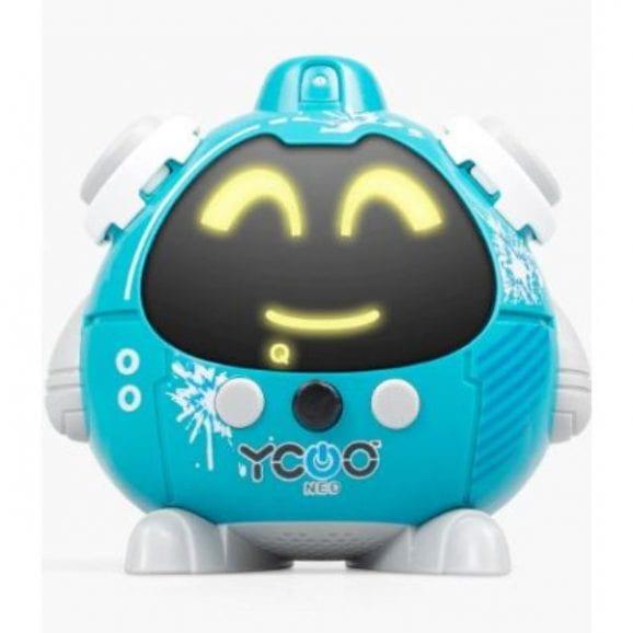 רובוט QUIZZIE משפריץ מים - כחול