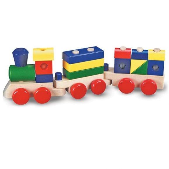 מליסה ודאג - רכבת הרכבה מעץ