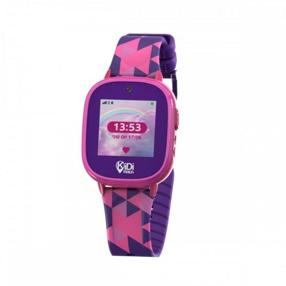 שעון חכם עמיד במים לילד - פרו 2 - סגול