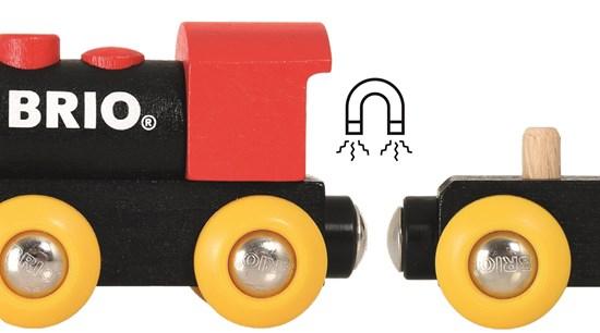 רכבת קלאסית מעץ לילדים