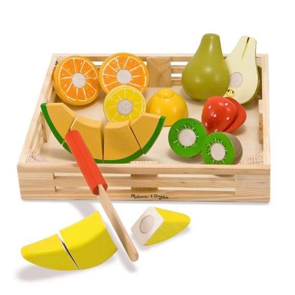 מליסה ודאג - סט פירות מעץ לחיתוך