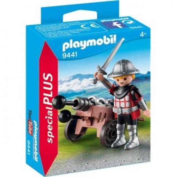 פליימוביל - אביר עם מכונת מרגמה 9441