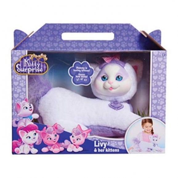 עודפים - אמא חתלתולה עם גורי הפתעה - לבנה סגולה