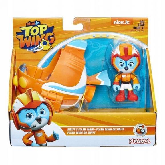 עודפים - כנפי העל כלי רכב כולל דמות - סוויפט כתום