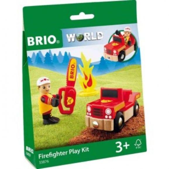 ערכת כיבוי אש מעץ לילדים