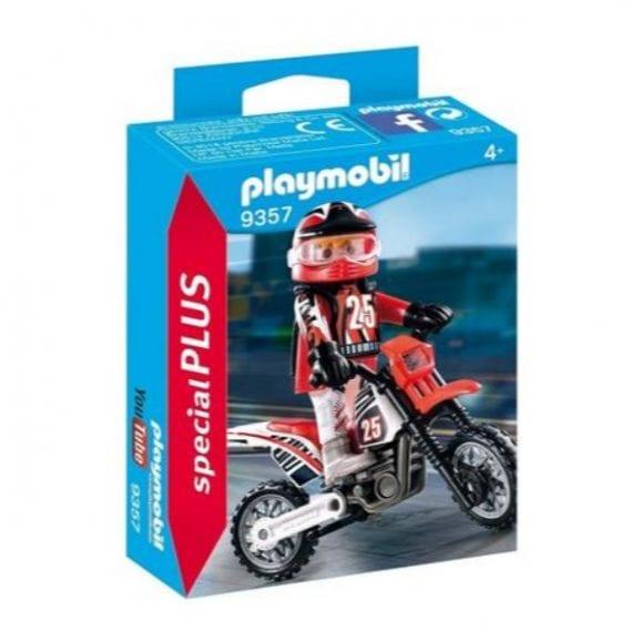 פליימוביל - אופנוען עם אופנוע 9357
