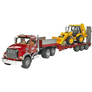 עודפים - משאית מוביל MACK