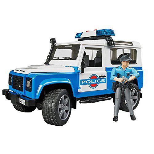 עודפים - ג'יפ לנד רובר רכב משטרה + שוטר ואביזרים