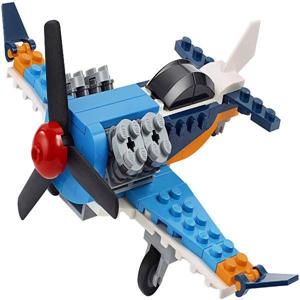 לגו קריאטור - מטוס פרופלור 3 ב-1 - 31099