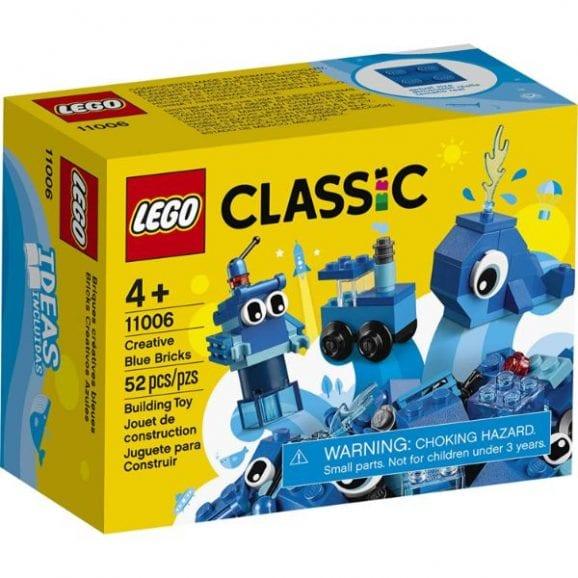 לגו קלאסיק - ערכת בנייה כחולה - 11006