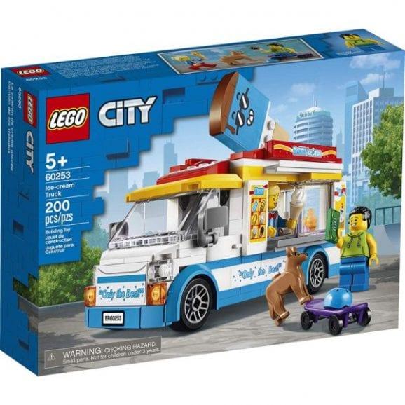 לגו סיטי - משאית גלידה - 60253