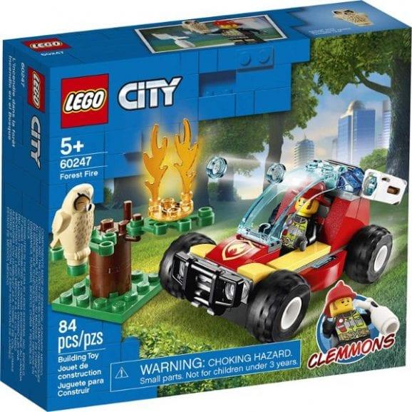 לגו סיטי - השריפה ביער - 60247