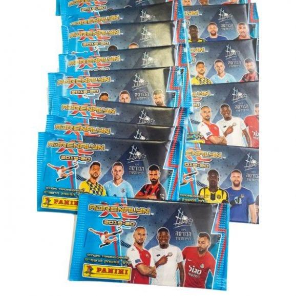 אדרנלין - מעטפת קלפי כדורגל -מארז 25 מעטפות