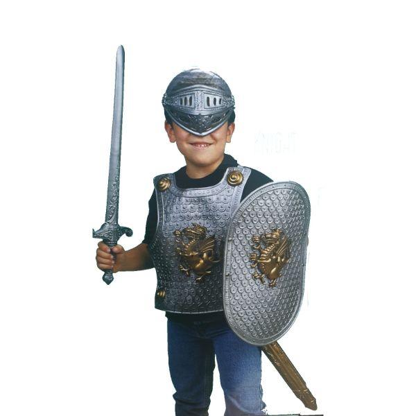 תחפושת אביר מהודרת -  גילאי 3 ומעלה