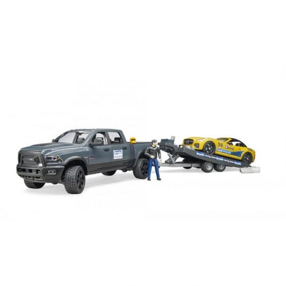 עודפים - RAM 2500 power wagon and BRUDER Roadster Racing Team