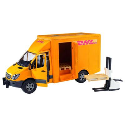 עודפים - משאית קטנה DHL