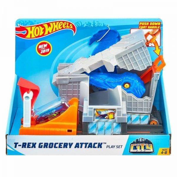 הוט ווילס הקפצת מכוניות כחול - FNB05