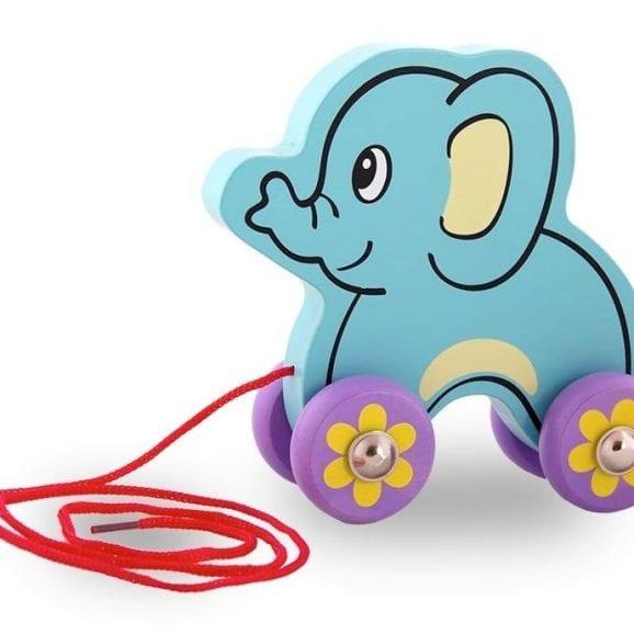 ויגה משוך וסע מעץ - פיל