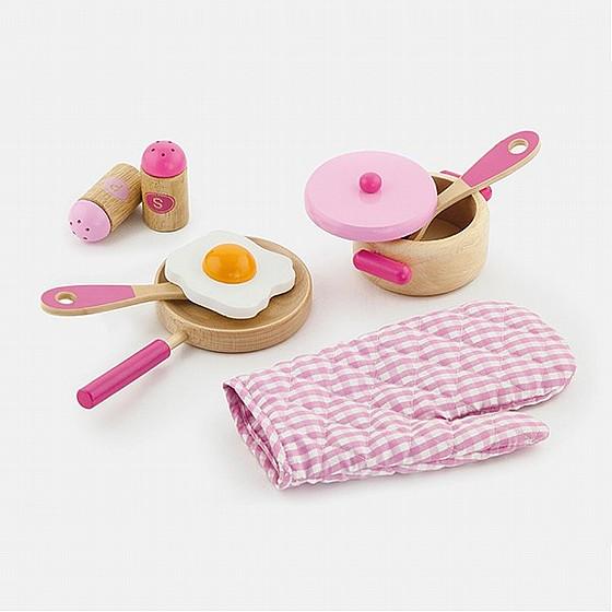 ויגה סט כלי מטבח + כפפה וקוד לילדים