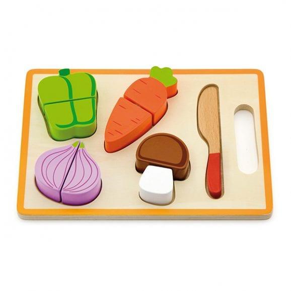 ויגה לוח פאזל-חיתוך ירקות לילדים