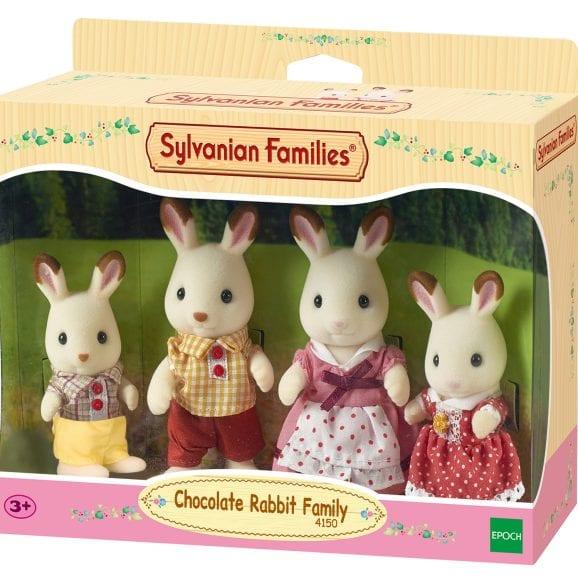 משפ' סילבניאן - משפחת ארנבונים שוקולד