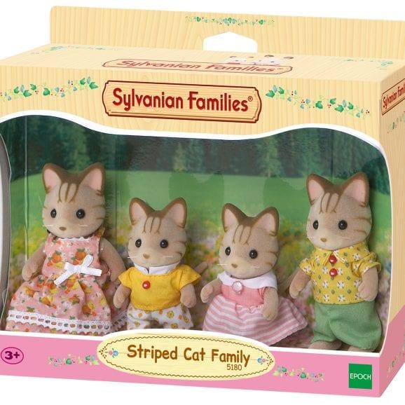 משפ' סילבניאן - משפחת חתולים מפוספסים