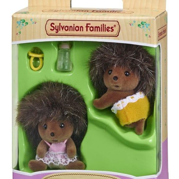 משפ' סילבניאן - תאומים קיפודים