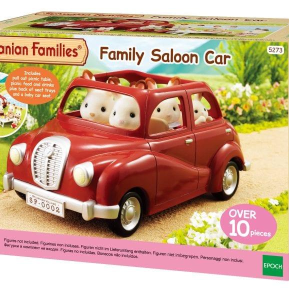 משפ' סילבניאן - מכונית אדומה