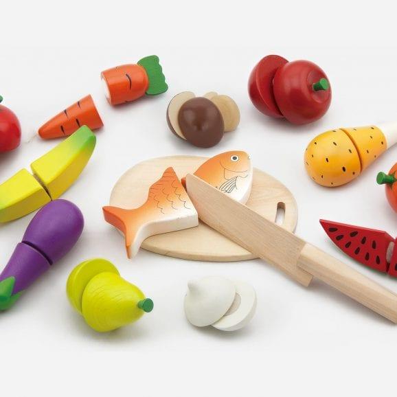 ויגה מגש חיתוך אוכל לילדים