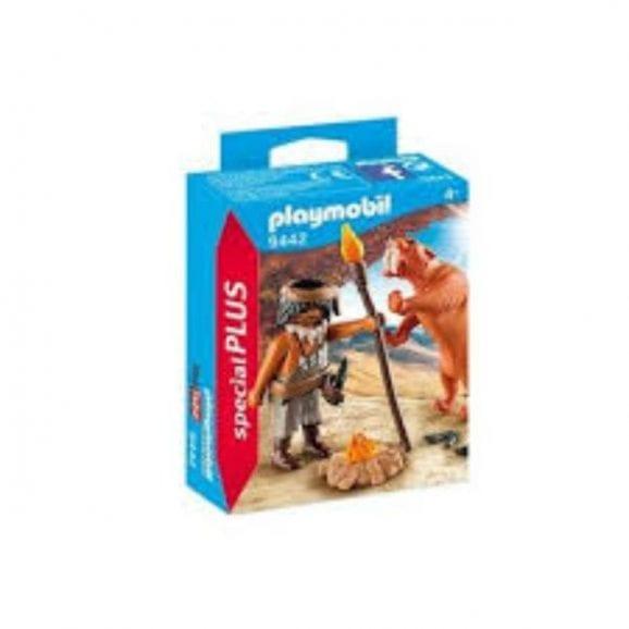 פליימוביל - איש מערות ונמר שן חרב 9442
