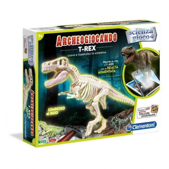 ערכת הרכבה דינוזאור T-REX זוהר בחושך
