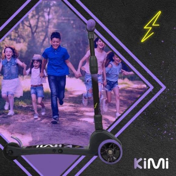 קורקינט חשמלי לילדים KIMI - סגול