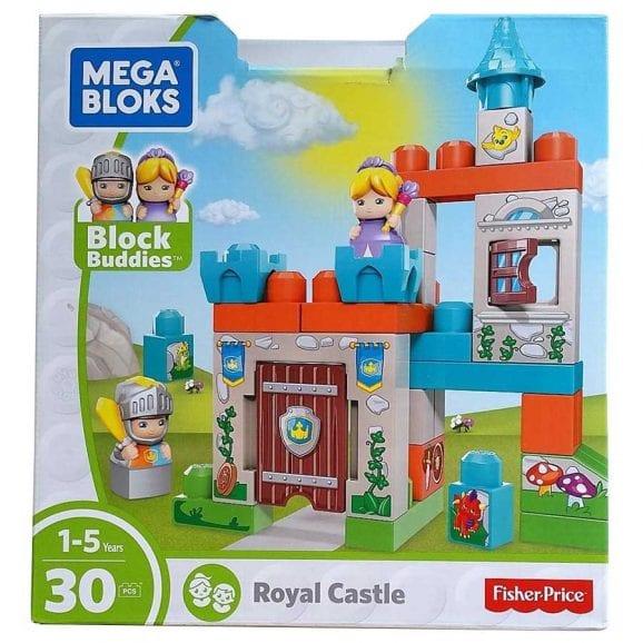 מגה בלוקס - ערכת בנייה הטירה הקסומה 30 חלקים