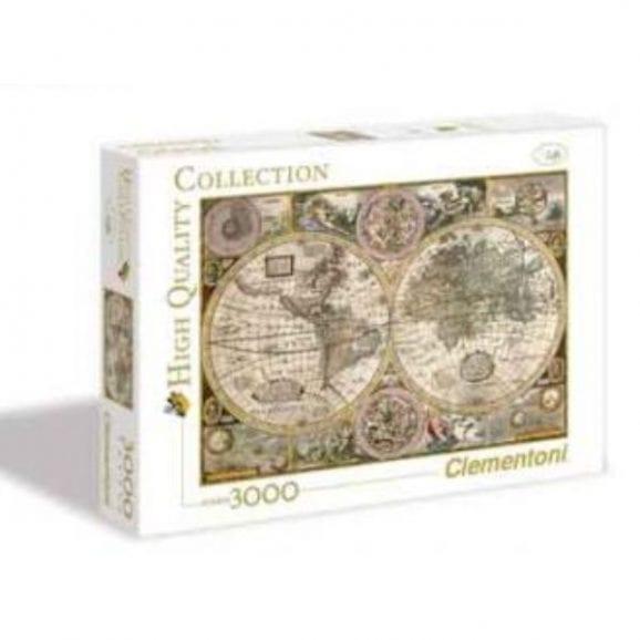 פאזל 3000 חלקים - מפה עתיקה
