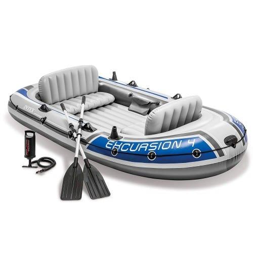 אינטקס - סט סירה משוטים ומשאבה 315X165X43