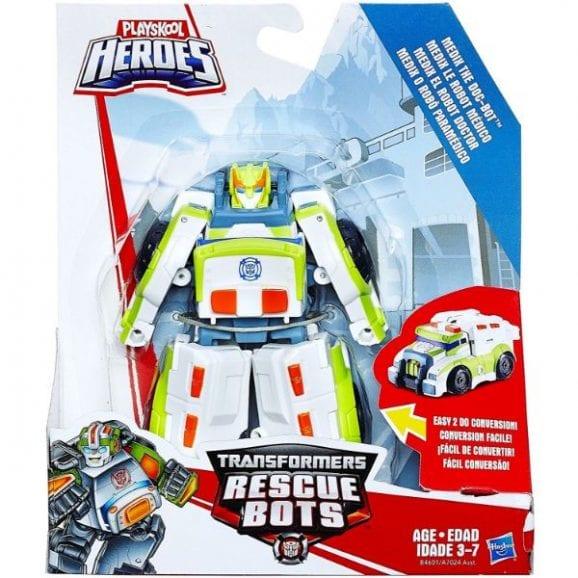 רובוטריקים פלייסקול גיבורי על בהסוואה - מדיקס הרובוט