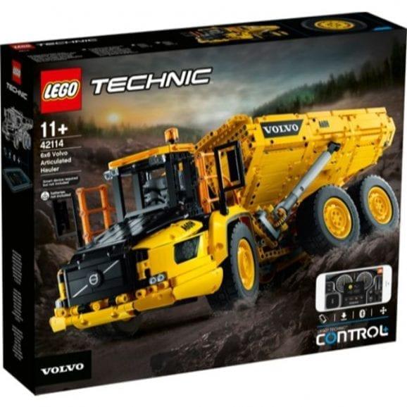 לגו טכני - משאית וולוו 42114