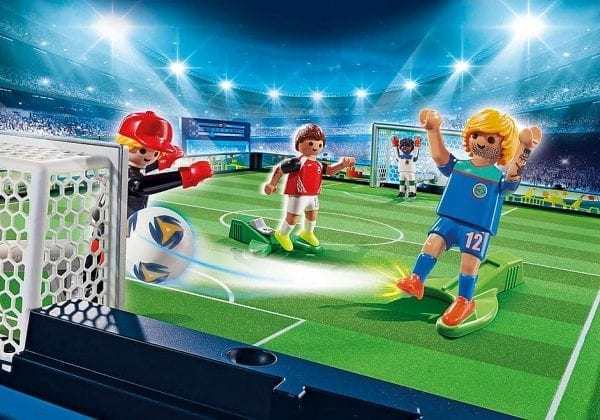 פליימוביל - מגרש כדורגל ושחקנים במזוודת נשיאה 70244