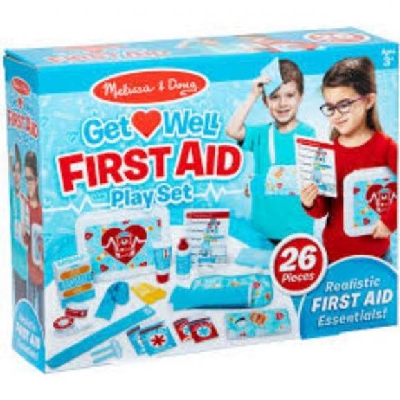 מליסה ודאג - סט משחק עזרה ראשונה 30601