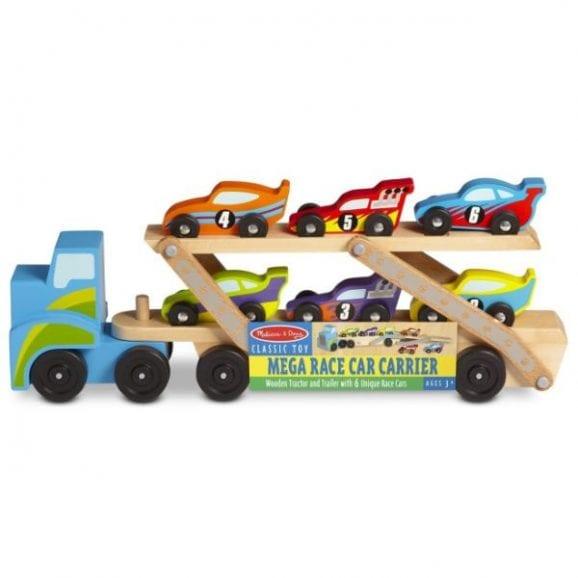 מליסה ודאג - משאית נושאת מכוניות ענקית 2759